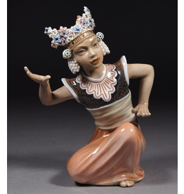 MANKS ANTIQUES ROYAL COPENHAGEN BALINESE DANCER FIGURE
