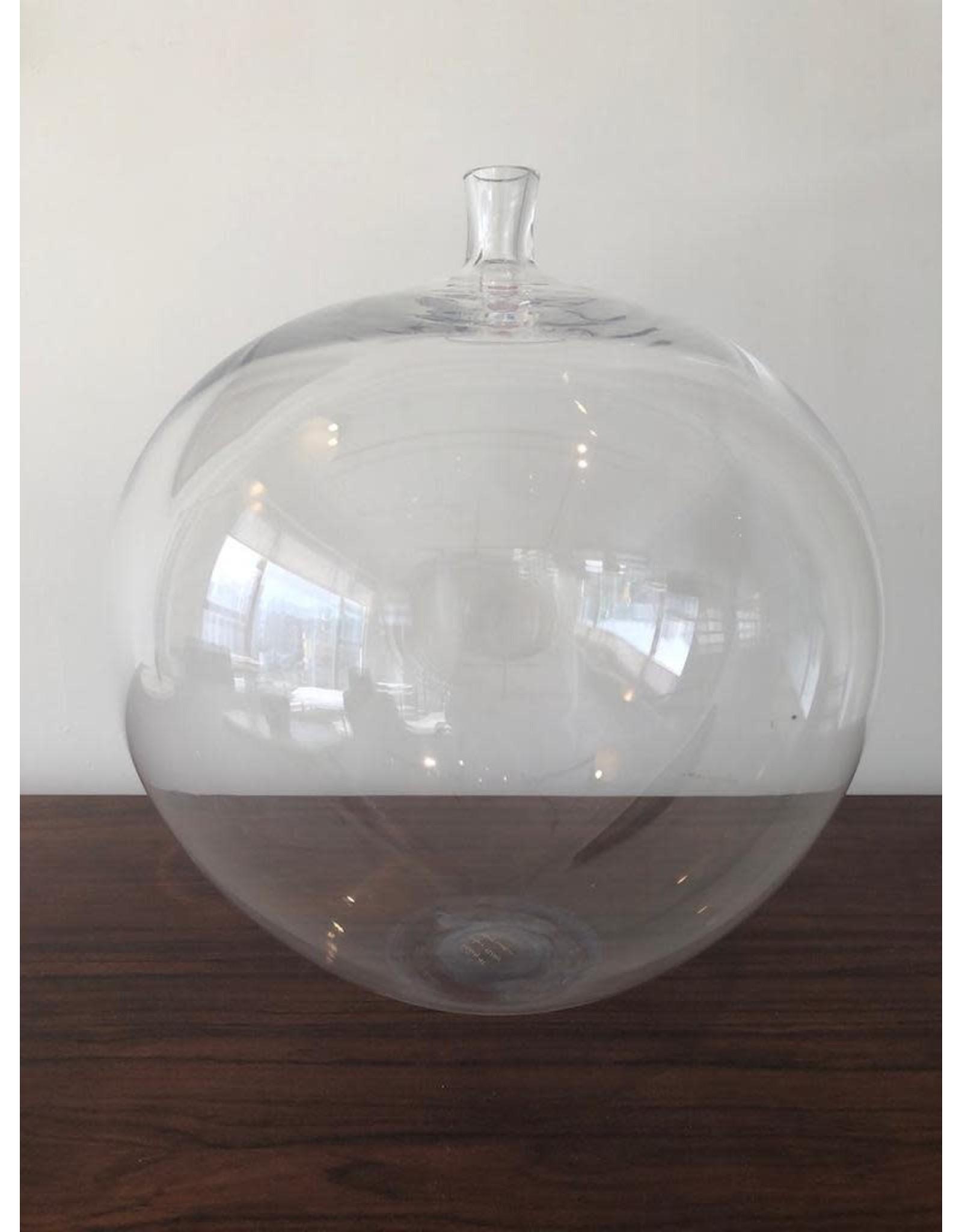 MANKS ANTIQUES RARE 稀有蘋果形玻璃古董花瓶