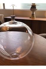 RARE 稀有蘋果形玻璃古董花瓶