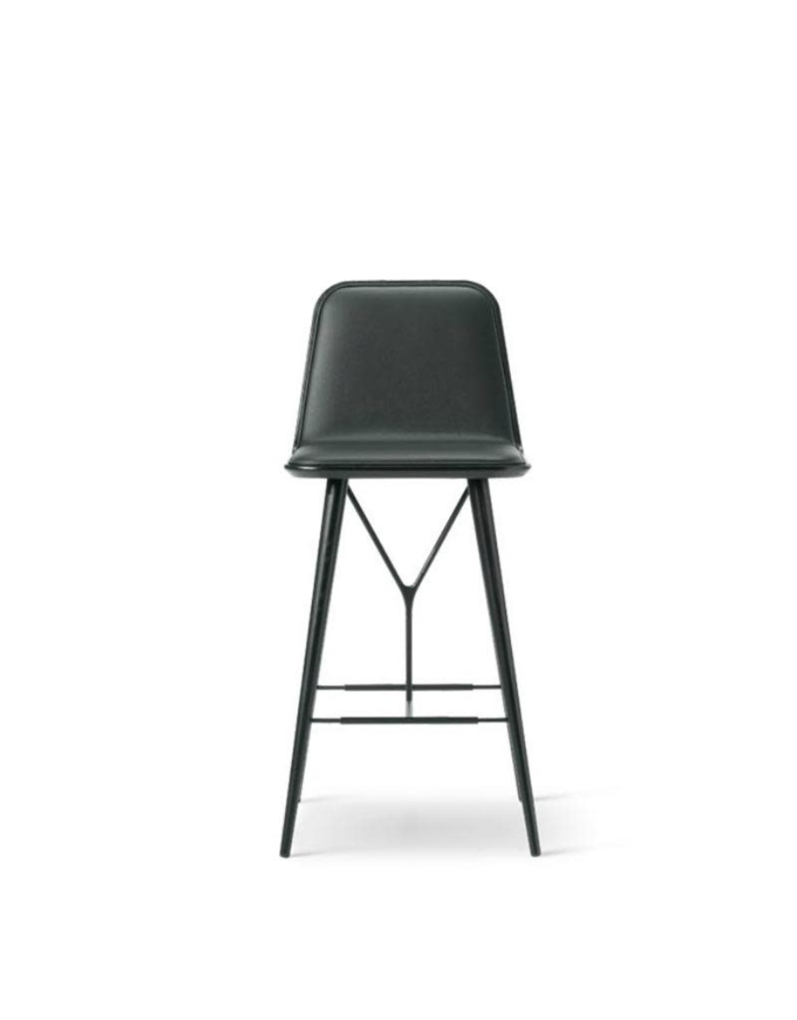 1731 SPINE 木底座靠背吧椅