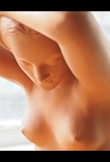 MANKS ANTIQUES CERAMIC SCULPTURE 有曲線美的裸体女士陶瓷雕塑