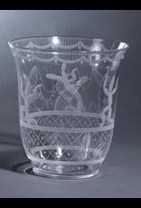 """ETCHED GLASS 蚀刻玻璃""""仙人掌""""花瓶"""