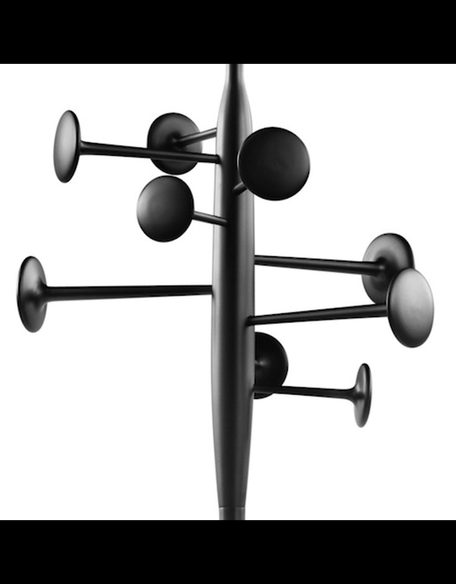 TRUMPET COATSTAND IN BLACK POWDERCOATED