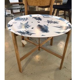 HJERTÉN & HJERTÉN 65CM ROUND TRAY WITH FOLDABLE TRAY STAND