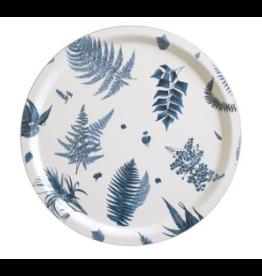 1001-46 COHIBA STENSÖTA 藍白色樺木托盤(大)