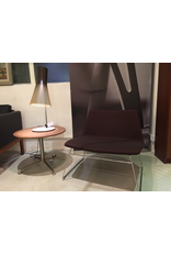 SPINAL 80 LOUNGE CHAIR, RUNNER LEGS IN POLISHED CHROME