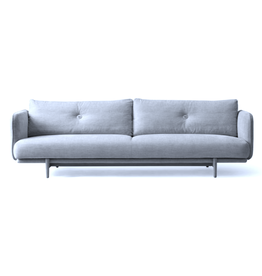 (DISPLAY) 3 SEATER HOLD SOFA IN ICE BLUE DIEGO#73