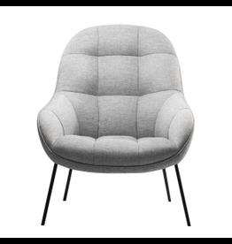 (陳列品) MANGO 淺灰色布料休闲椅