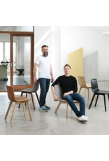 FREDERICIA 4392 PATO LOUNGE CHAIR W/WOOD BASE