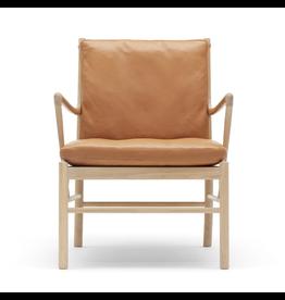 CARL HANSEN & SON OW149 實心橡木休閒殖民椅
