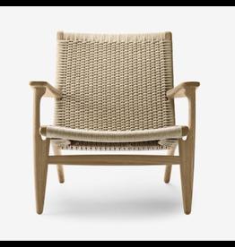 CH25 橡木編織休閒椅