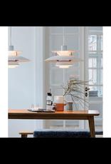 LOUIS POULSEN PH 5 CONTEMPORARY PENDANT LAMP IN CLASSIC WHITE