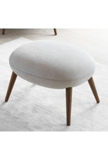1771 SWOON OTTOMAN IN MAPLE FABRIC