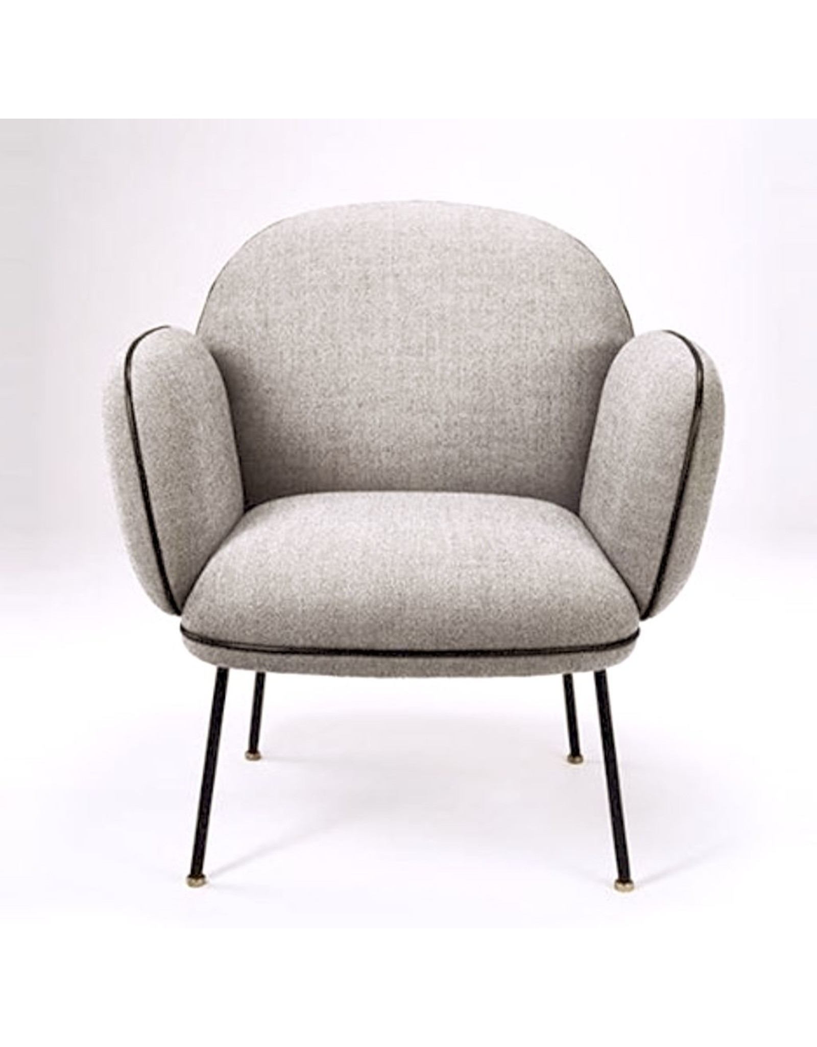 WON DESIGN OLLIE LOUNGE CHAIR IN DUSTY GREY