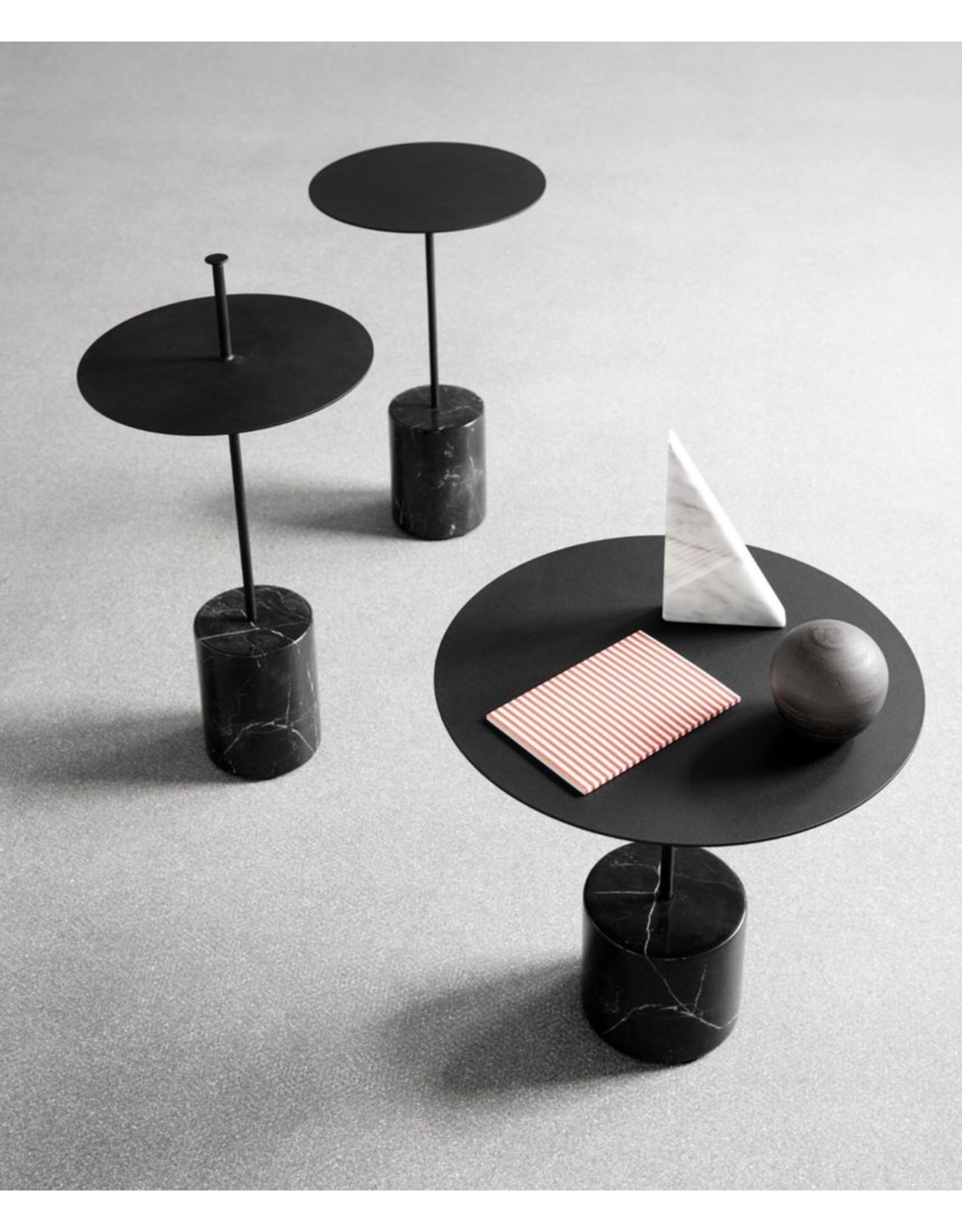 WON DESIGN CALIBRE LOW MARBLE SIDE TABLE