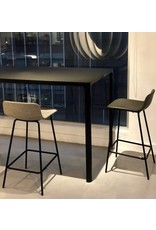 4317 PATO COUNTER STOOL IN GREY LEATHER