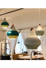 LOUIS POULSEN CIRQUE PENDANT LAMP, TOP IN COPPER