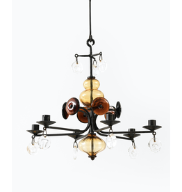 MANKS ANTIQUES 1960's ERIK HOGLUND 燭台吊燈