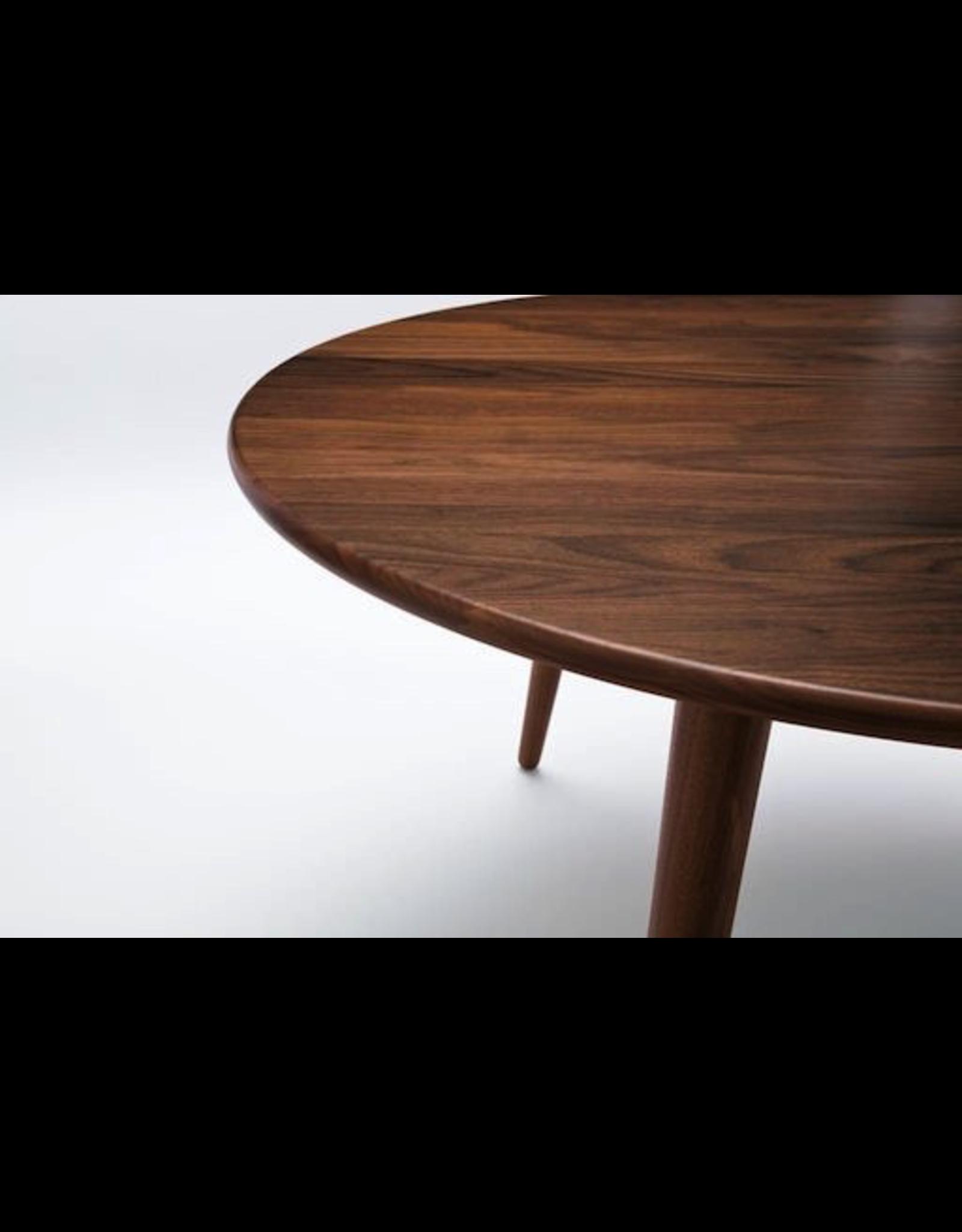CH008 三腳實心胡桃木咖啡桌