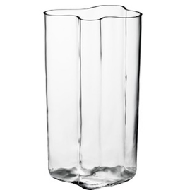 AALTO VASE, CLEAR, 600 MM
