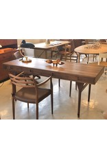 ND93 NANNA DITZEL DESK WITH 4 DRAWERS