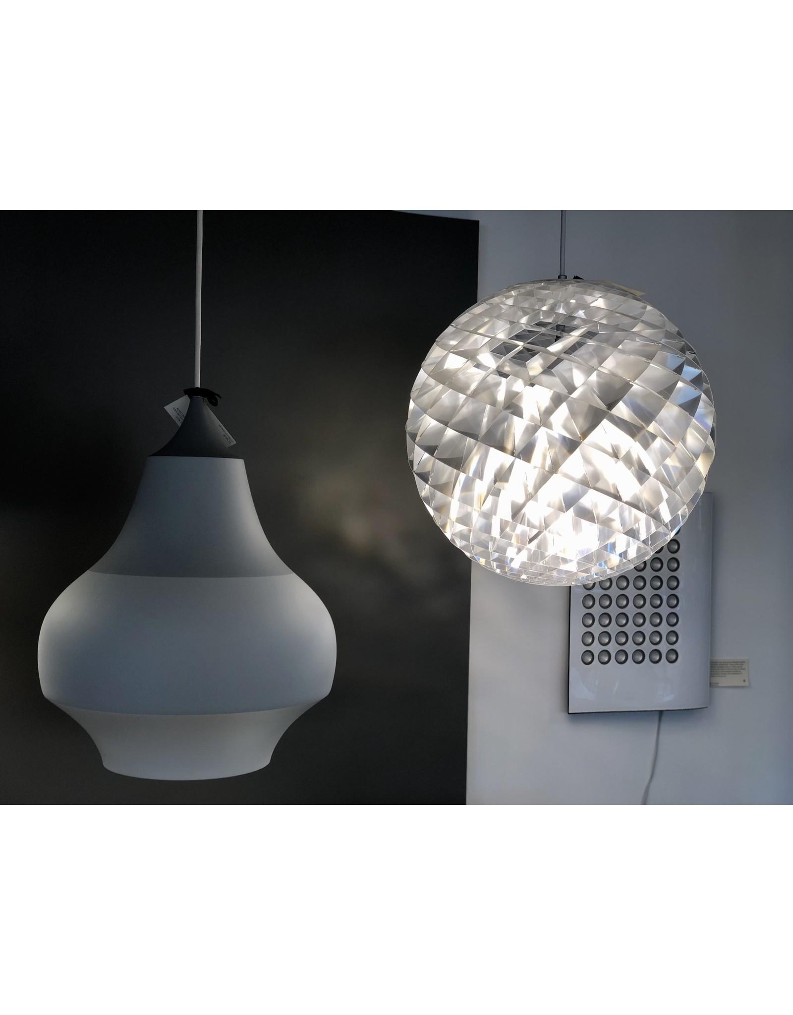 PATERA PENDANT LAMP IN SILVER