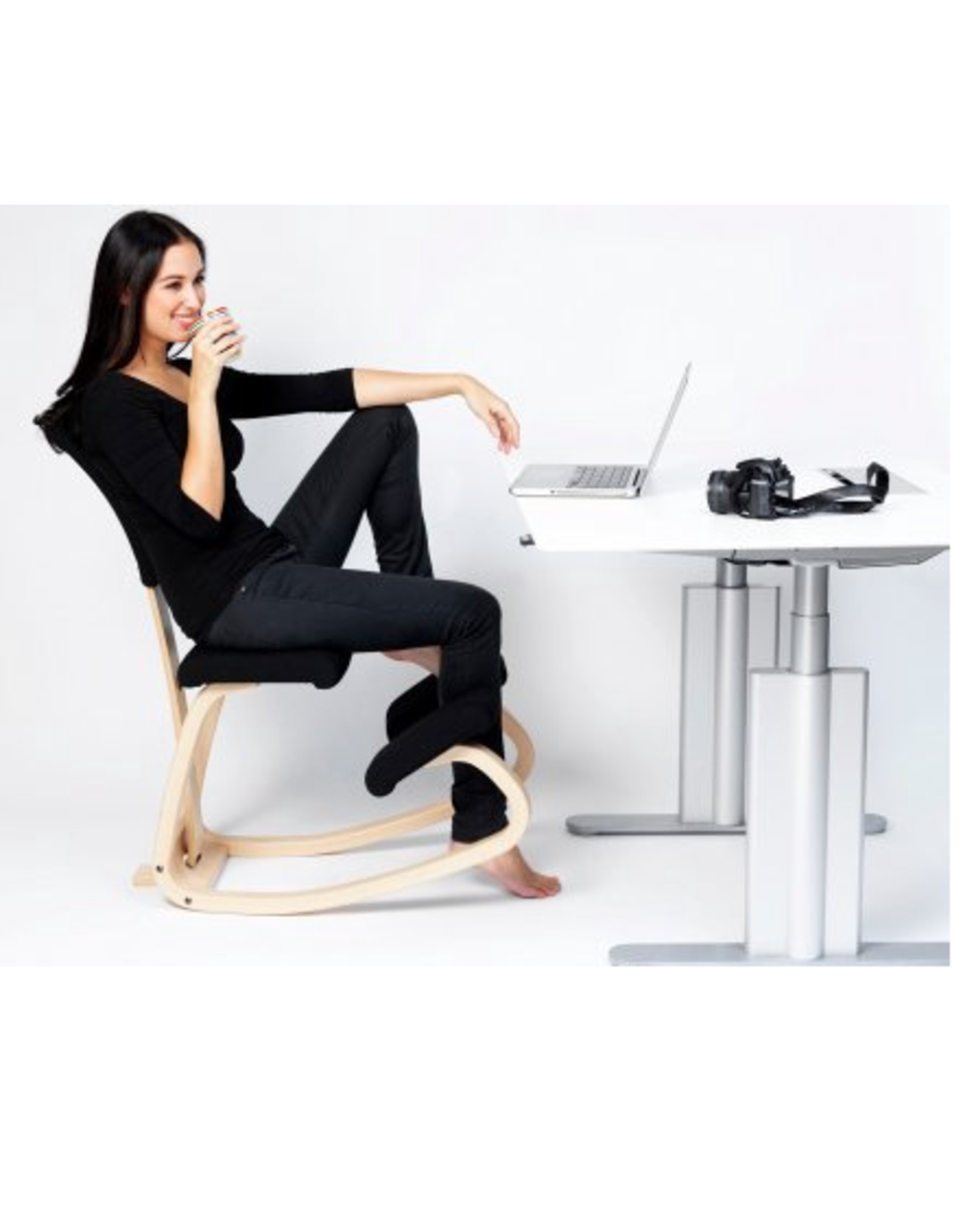VARIABLE BALANS KNEELING CHAIR WITH VARIABLE BACK
