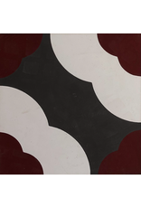 NANCHOW HAND MADE CEMENT TILE, 200 X 200 X 16MM (MULTI)