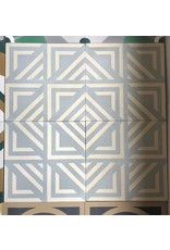 NANCHOW HAND MADE CEMENT TILE, 200 X 200 X 16MM (GREY)