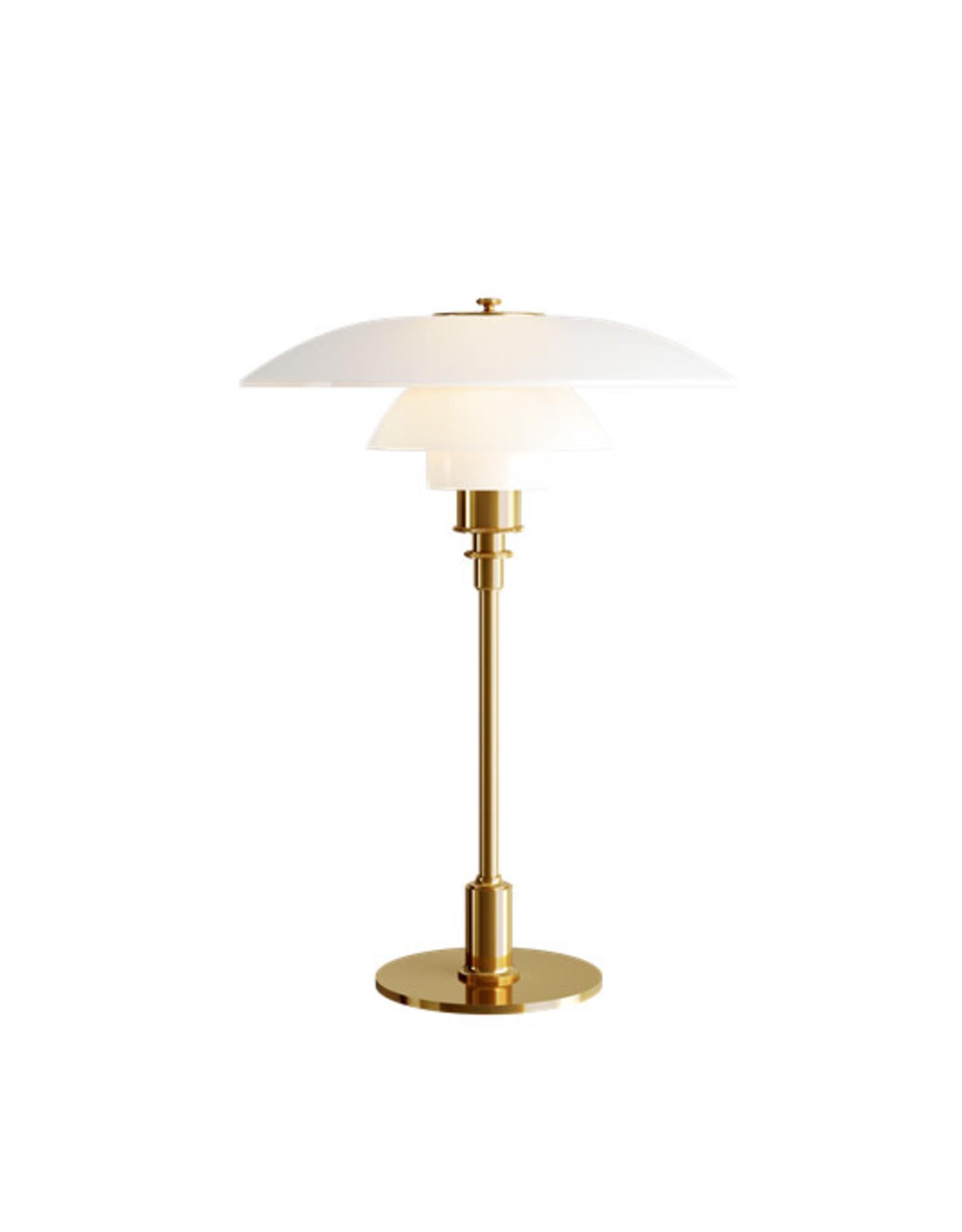 PH 3½-2½ 黃銅色檯燈