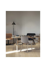 4222 PATO WOOD CHAIR IN GREY FABRIC