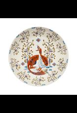 TAIKA DEEP PLATE, 22 CM DECO WHITE