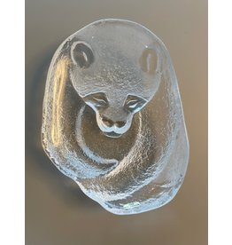 MATS JONASSON STUDIO 熊貓玻璃碗