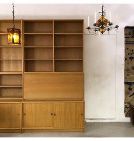 1960's ORESUND 橡木書櫃連桌
