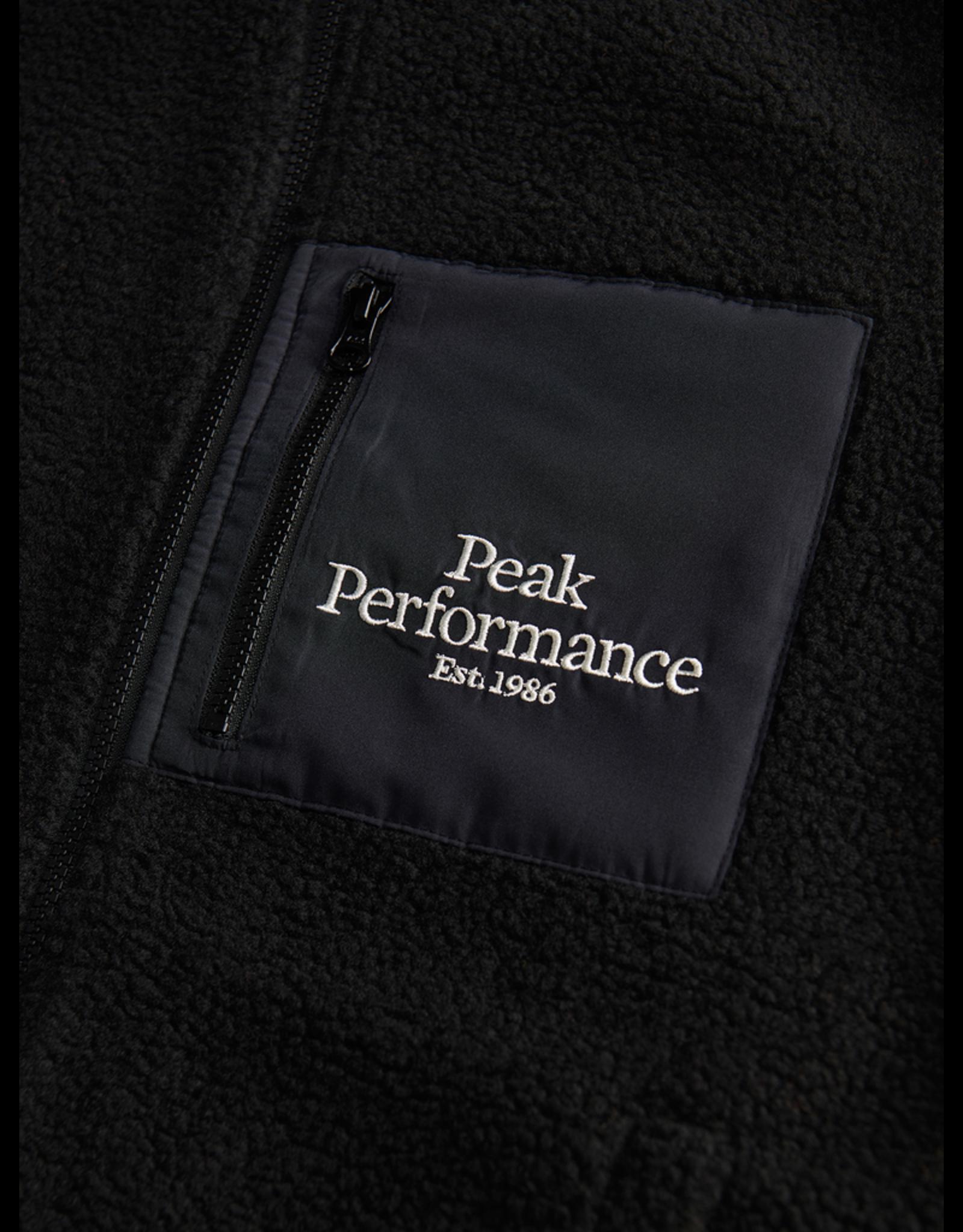 Peak Performance Original Pile Zip Vest Man