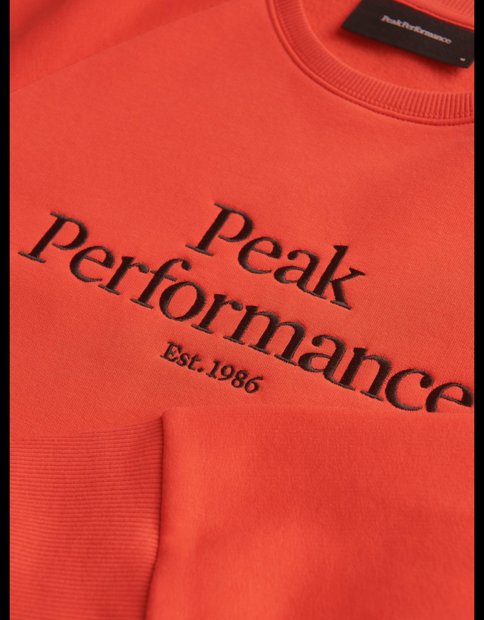 Peak Performance Original Crew Men GF Or