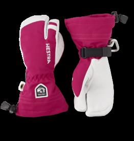 Hestra Army Leather Heli Ski Junior  Pink