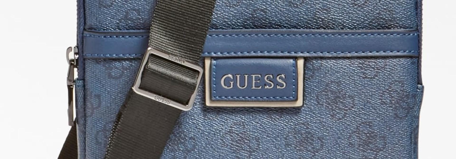 Guess Schoudertas/blu