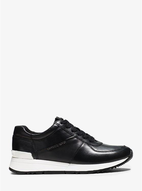 Michael Kors / Allie Trainer Leather Black-2