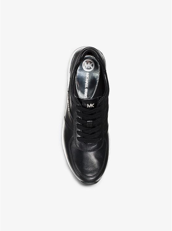 Michael Kors / Allie Trainer Leather Black-3