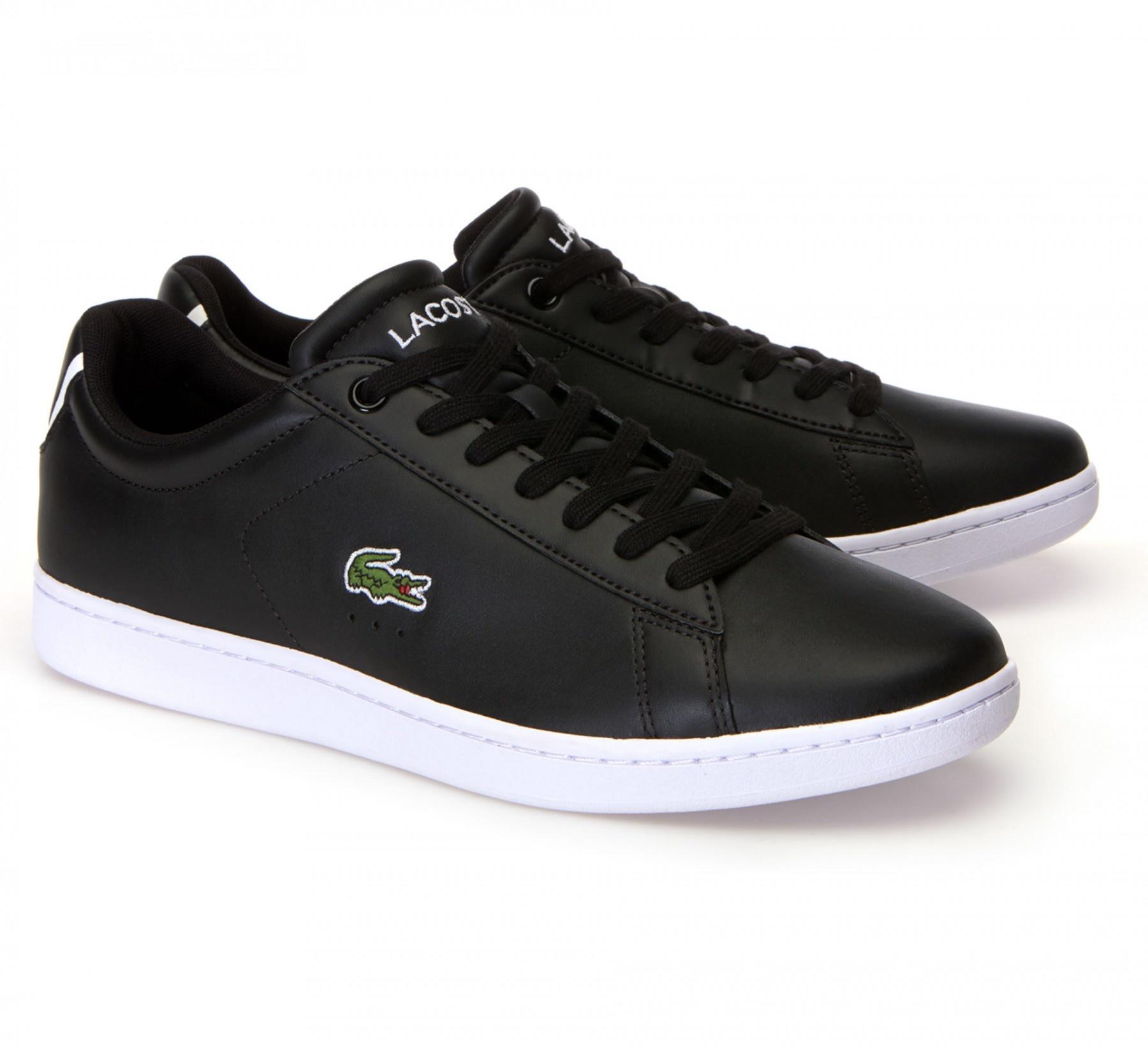 Lacoste / Powercourt BLK/WHT Leather-1