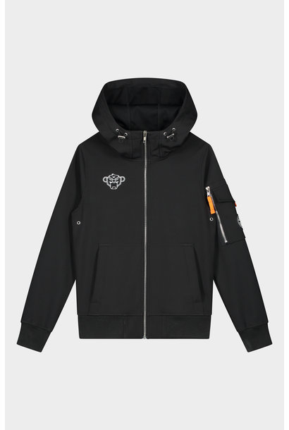 Jr. Softshell Jacket Zwart