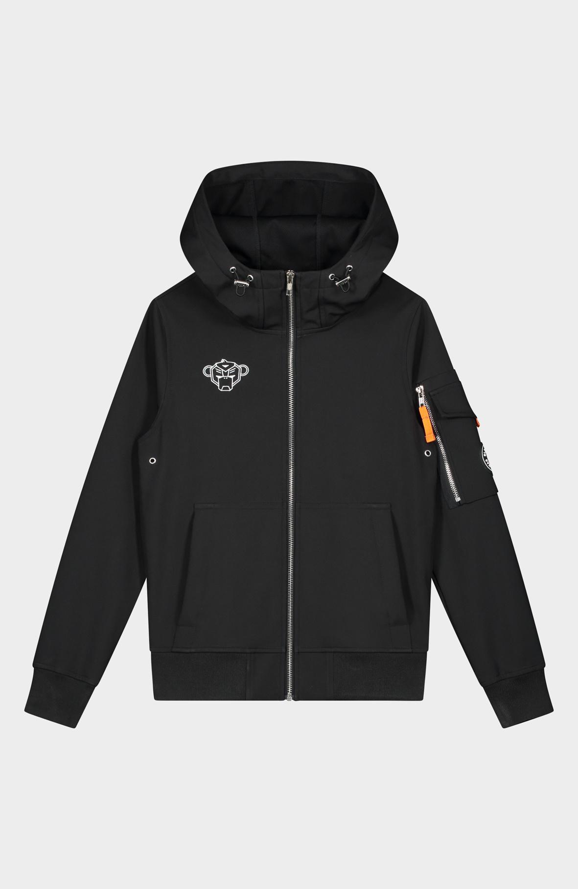 Jr. Softshell Jacket Zwart-1