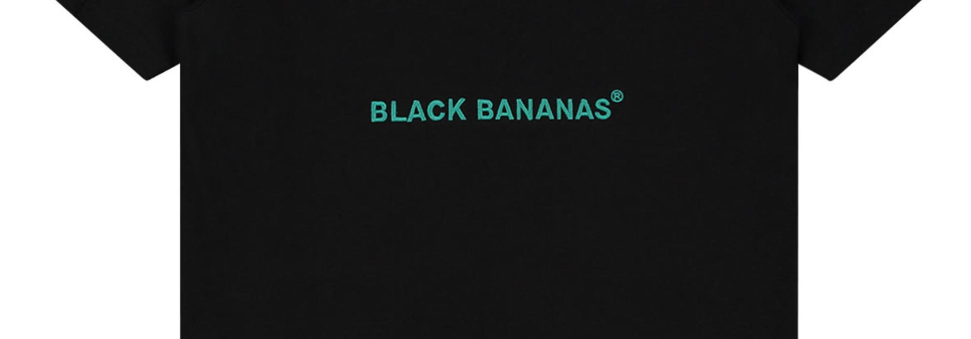 Black Bananas Jr Unity Tee Black/Agua