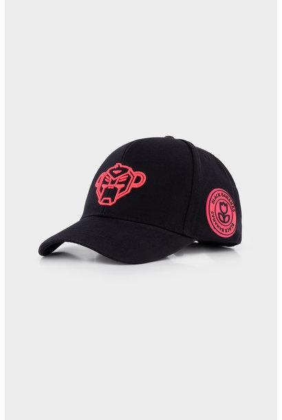 Jr. Black Bananas Match Baseball Hat Pink