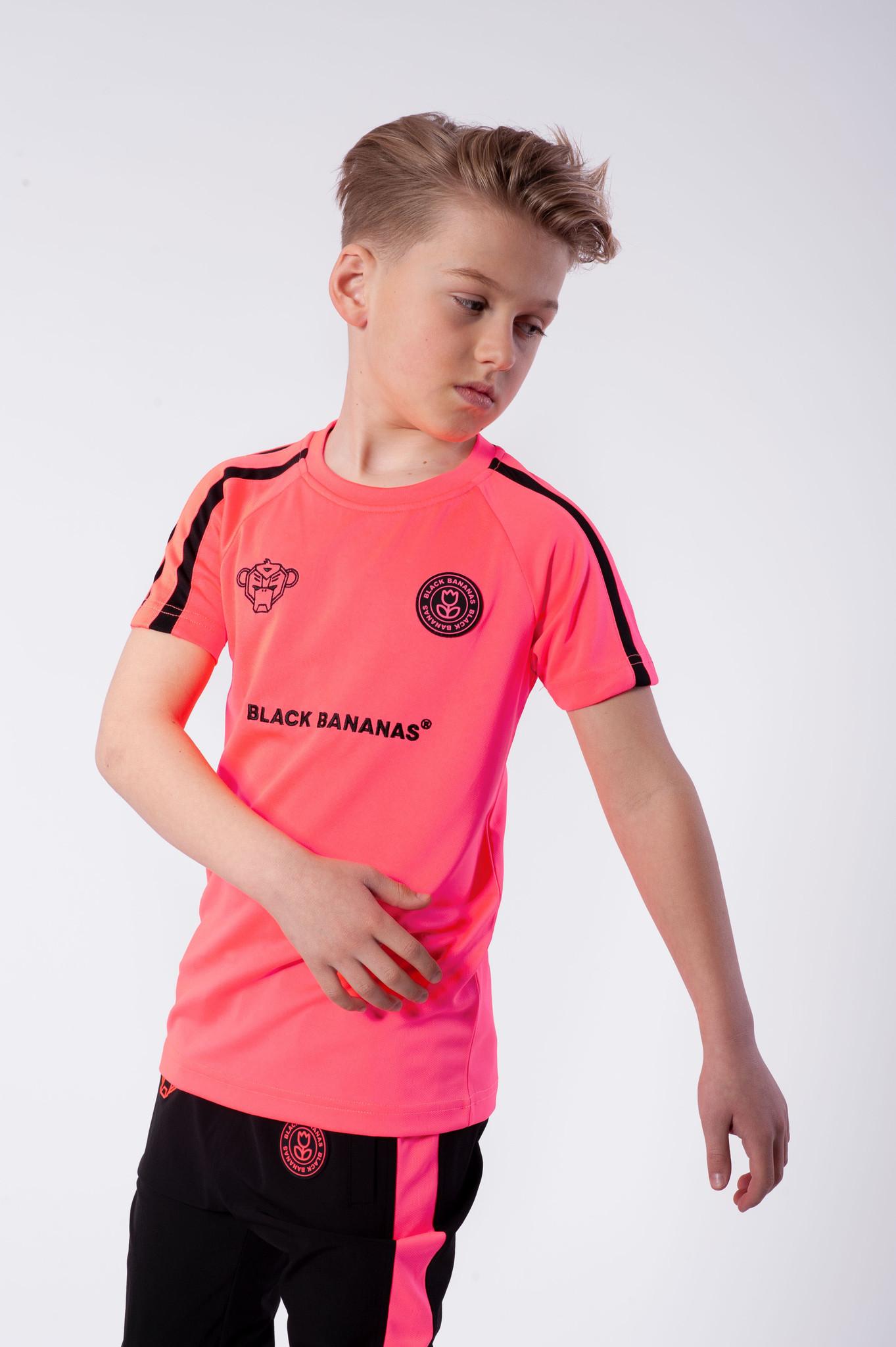 F.C. Match Tee Pink-2