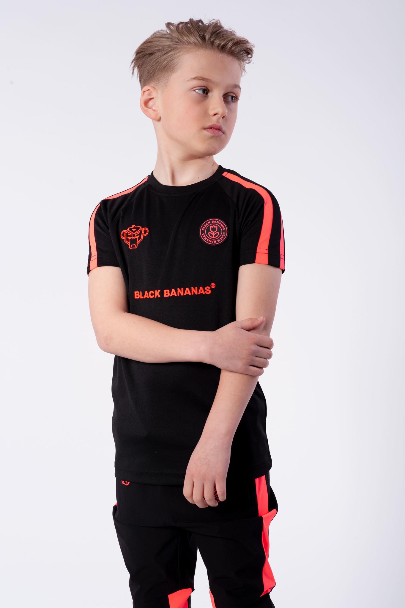 F.C. Match Tee Black-2