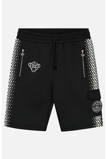 Hexagon Short Black/white