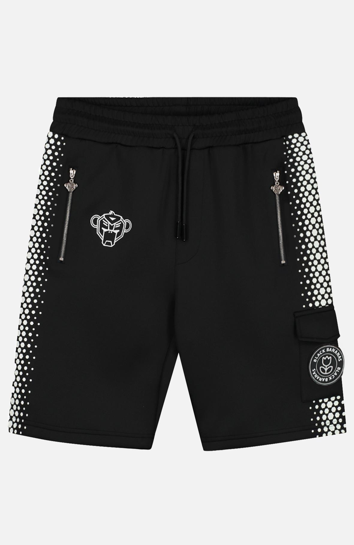 Hexagon Short Black/white-1