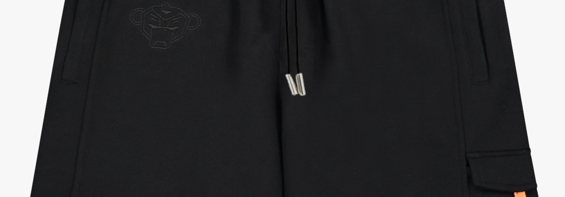 Ribbon Short Black